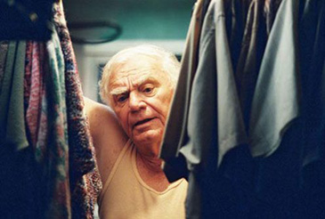 """Ernest Borgnine as a lonely widower in 'Segment USA' as part of '11'09""""01 – September 11'"""