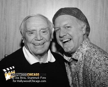 Ernest Borgnine and Patrick McDonald, October 17, 2009