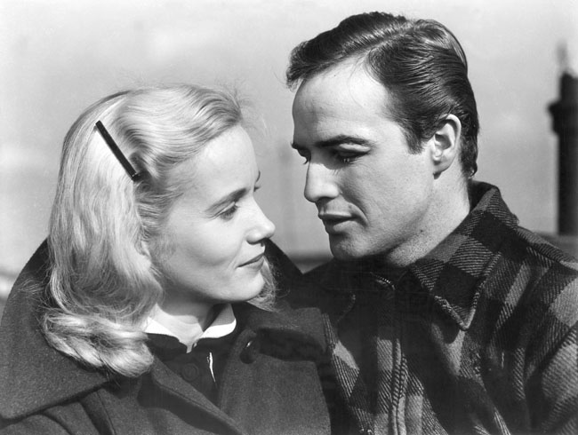 Contender: Eva Marie Saint in her Oscar Winning Role with Marlon Brando in 'On the Waterfront'