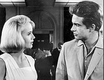 With Warren Beatty in 'All Fall Down'