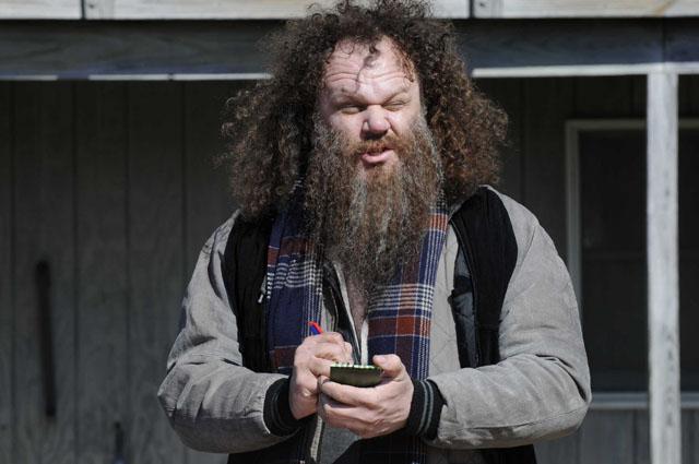 Mountainous: Gershon (John C. Reilly)  in 'The Extra Man'