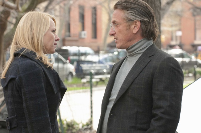 Facing Off: Naomi Watts as Valerie Plame and Sean Penn as Joe Wilson in 'Fair Game'