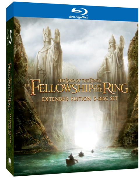 The Lord of the Rings: The Fellowship of the Ring was released on Blu-ray on August 28, 2012