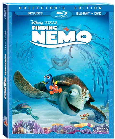 Finding Nemo was released on Blu-ray on December 4, 2012