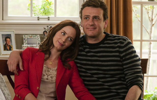 The Happy Couple: Jason Segel (Tom) and Emily Blunt (Violet) in 'The Five-Year Engagement'