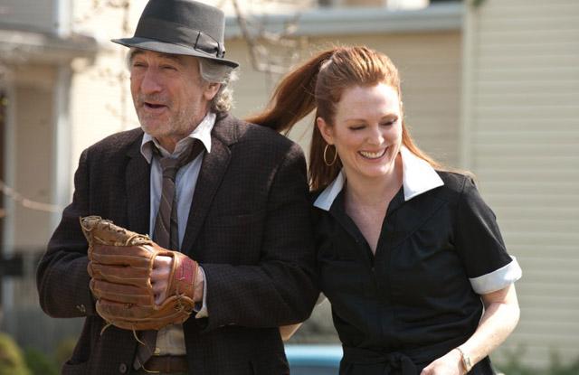 """Catch the Legend: Robert De Niro (Jonathan Flynn) and Julianne Moore (Jody) in """"Being Flynn'"""