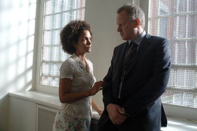 Free to Be: Halle Berry as Frankie and Stellan Skarsgard as Oz in 'Frankie and Alice'