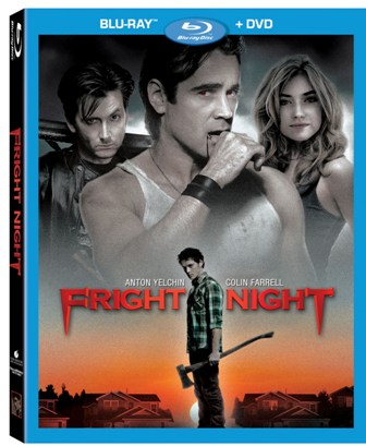 Fright Night was released on Blu-ray and DVD on December 13th, 2011