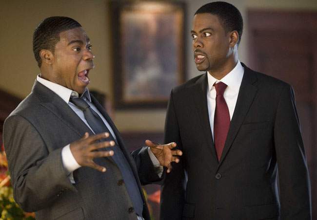 Tracy is as Tracy Does: Tracy Morgan as Norman and Chris Rock as Aaron in 'Death at a Funeral'