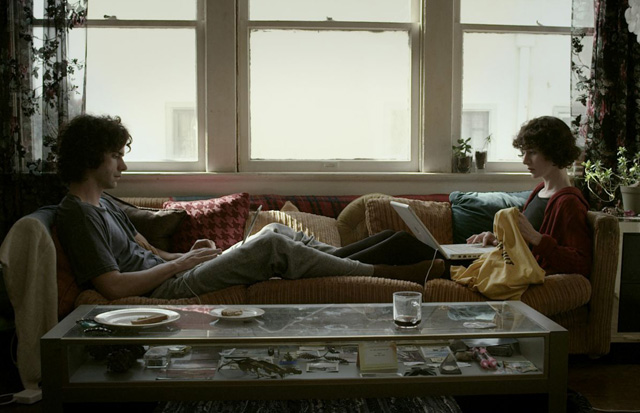 All is Well?: Hamish Linklater as Jason and Miranda July as Sophie in 'The Future'