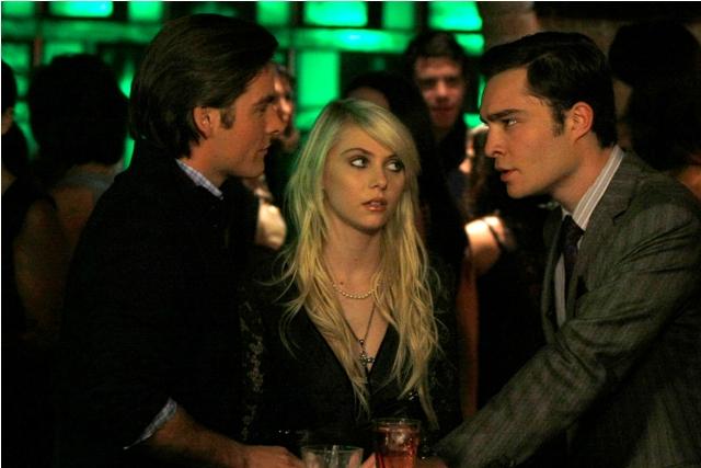 Kevin Zegers, Taylor Momsen and Ed Westwick star in Gossip Girl: Season 3.