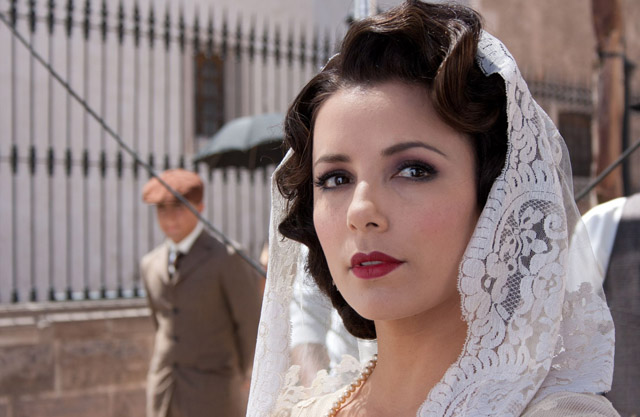 Eva Longoria as Tulita, General Gorostieta's Wife, in 'For Greater Glory'