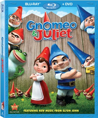 Gnomeo and Juliet was released on Blu-Ray and DVD on May 24, 2011