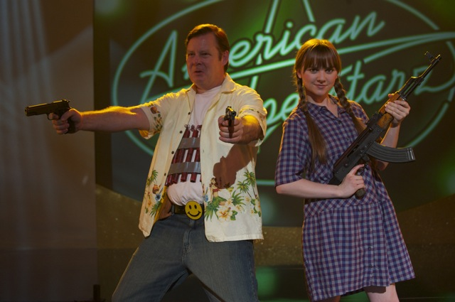 Joel Murray and Tara Lynne Barr star in GOD BLESS AMERICA, a Magnet Release.