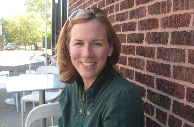 Grace McPhillips in Chicago, September, 2011
