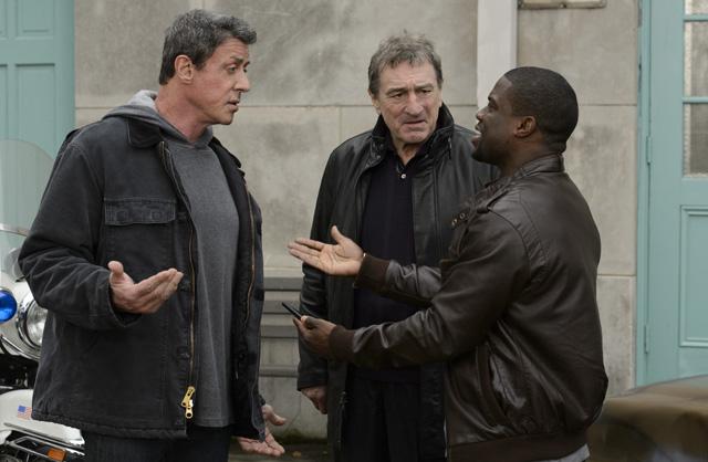Sylvester Stallone, Robert De Niro, Kevin Hart