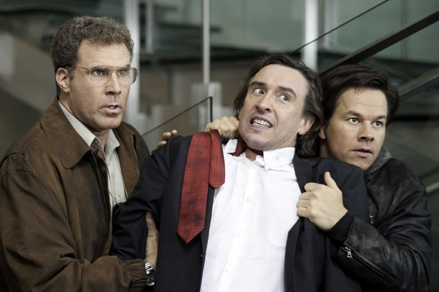 Making the Collar: Will Ferrell as Gamble, Steve Coogan as Erston and Mark Walhberg as Hoitz in 'The Other Guys'