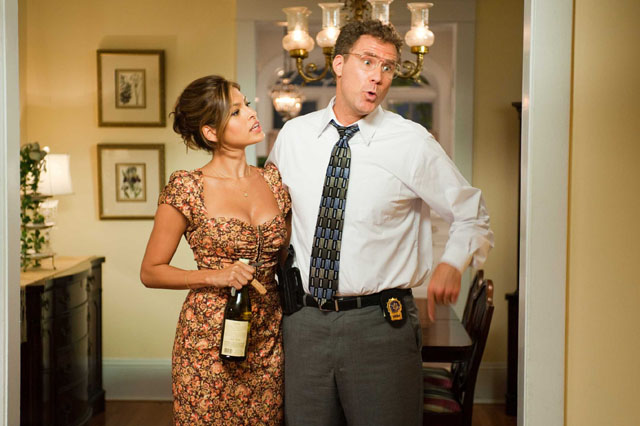 Domestic Bliss: Will Ferrell and Eva Mendes as Sheila in 'The Other Guys'
