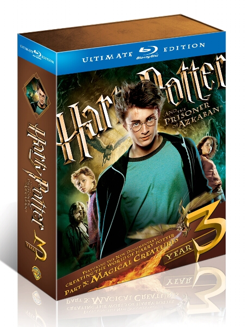 Harry Potter and the Prisoner of Azkaban: Ultimate Edition was released on Blu-Ray on October 19th, 2010