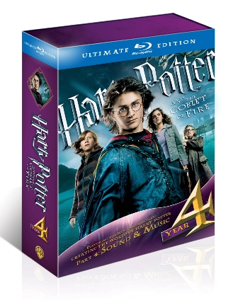 Harry Potter and the Goblet of Fire: Ultimate Edition was released on Blu-Ray on October 19th, 2010