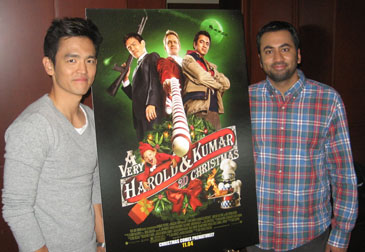 John Cho and Kal Penn in Chicago, October 18th, 2011