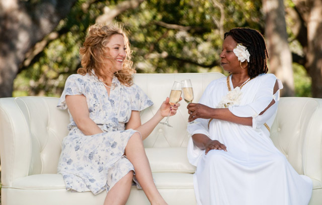 Odd God: Kate Hudson (Marley) and Whoopi Goldberg (The Deity) in 'A Little Bit of Heaven'