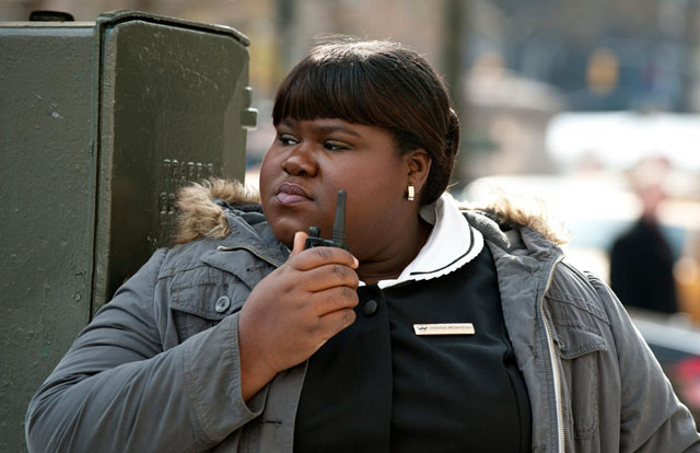 She's Jamaican, Mon: Gabourey Sidibe as Odessa in 'Tower Heist'
