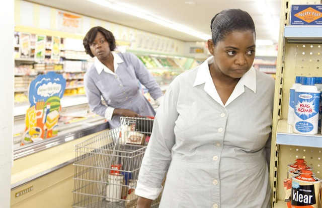 Viola Davis (left) as Aibileen and Octavia Spencer as Minny in 'The Help'