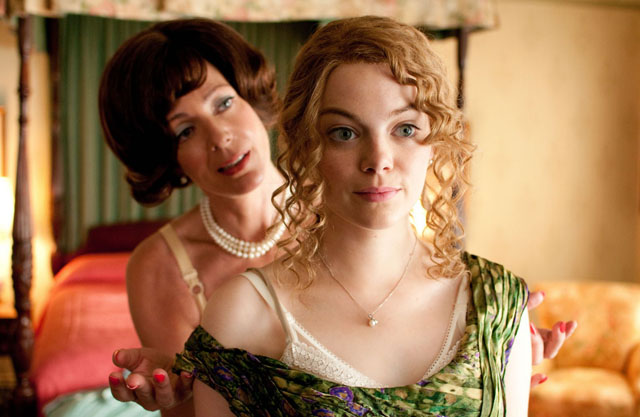 Alison Janney (left) as Aibileen and Emma Ston as Minny in 'The Help'