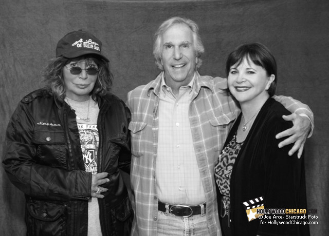 Penny Marshall, Henry Winkler and Cindy Williams in Chicago, October 2nd, 2011