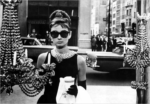 Audrey Hepburn stars in Blake Edwards's 1961 classic Breakfast at Tiffany's.