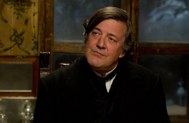 Just Dandy: Stephen Fry as Brother Mycroft in 'Sherlock Holmes: Game of Shadows'