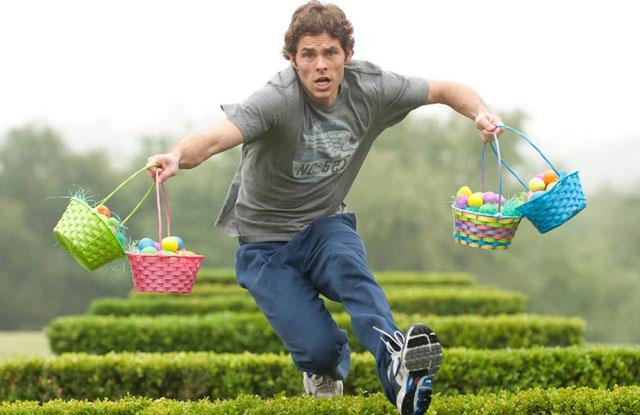 In Training: James Marsden in 'Hop'