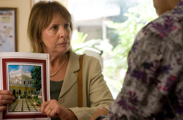 Penelope Wilton (Jean) Finds Sanctuary in 'The Best Exotic Marigold Hotel'