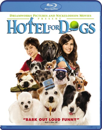 Hotel For Dogs was released on Blu-Ray on April 28th, 2009.