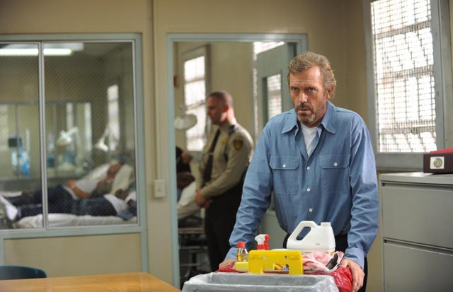Jailhouse Rock: Hugh Laurie the Eighth Season Premiere of 'House M.D.'
