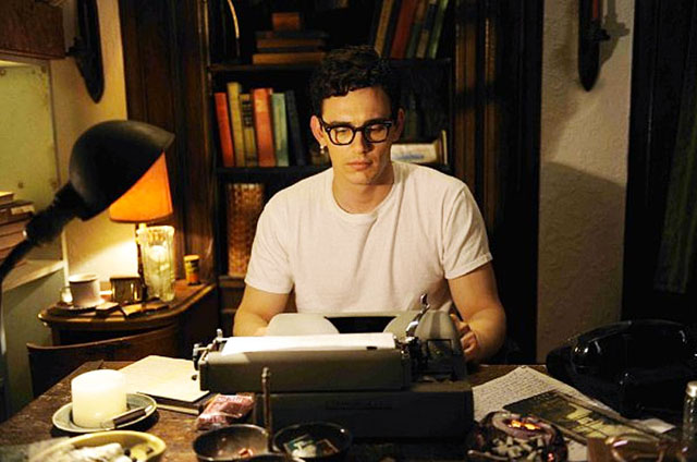 Typewriter as Sword: James Franco as Allen Ginsberg in 'Howl'