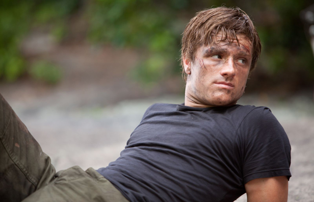 Josh Hutcherson (Peeta) in 'The Hunger Games'