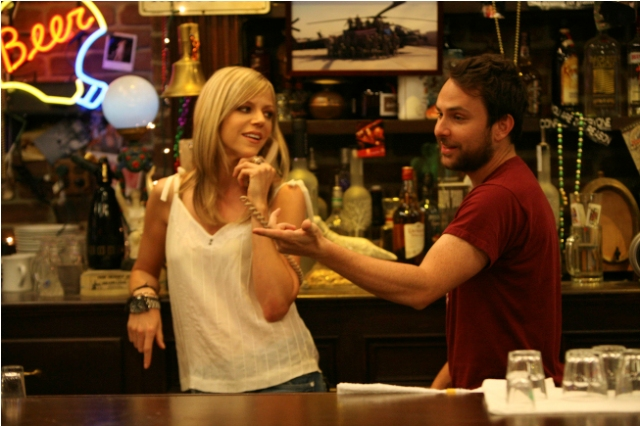 LL-R: Kaitlin Olson and Charlie Day in the season premiere of IT'S ALWAYS SUNNY IN PHILADELPHIA airing Thursday, September 15 at 10pm e/p.