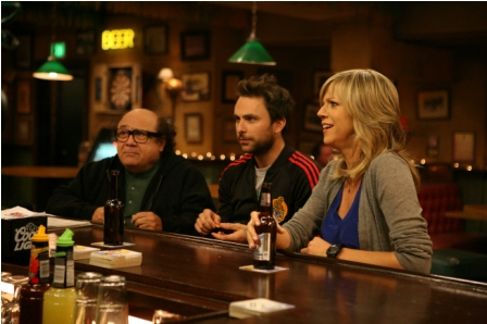 L-R: Danny DeVito, Charlie Day and Katlin Olson on the season 6 premiere of IT'S ALWAYS SUNNY IN PHILADELPHIA airing Thursday, September 16, 10 PM E/P on FX