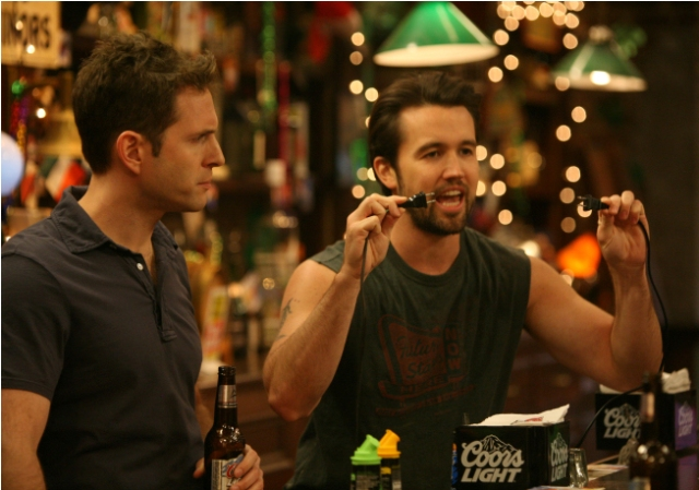 L-R: Glenn Howerton and Rob McElhenney on the season 6 premiere of IT'S ALWAYS SUNNY IN PHILADELPHIA airing Thursday, September 16, 10 PM E/P on FX