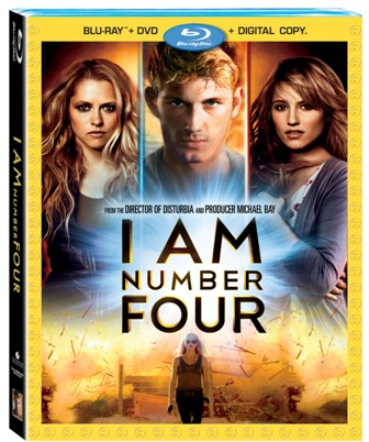 I Am Number Four was released on Blu-Ray and DVD on May 24, 2011