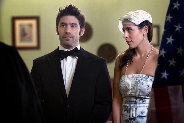 David W. Ross and Jamie-Lynn Sigler star in Glenn Gaylord's I Do.
