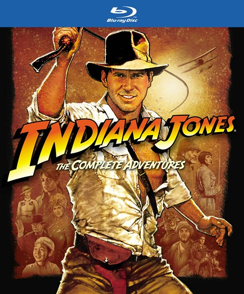 Indiana Jones: The Complete Series was released on Blu-ray on September 18, 2012