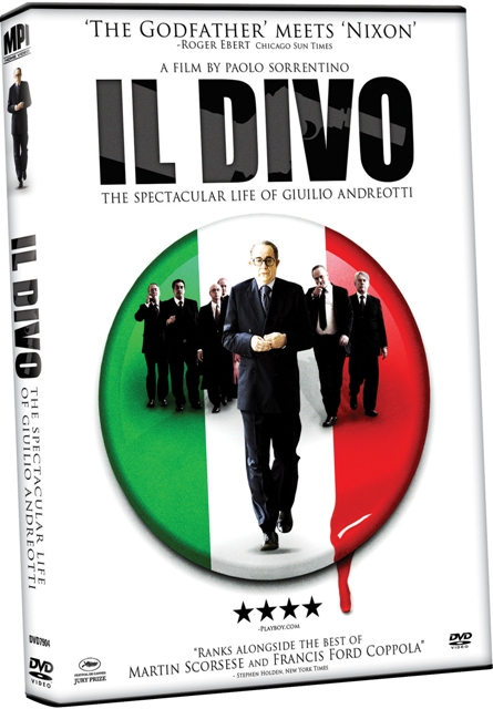 Il Divo will be released on Blu-Ray and DVD on October 27th, 2009.