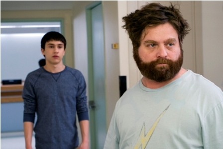 Keir Gilchrist and Zach Galifianakis star in Ryan Fleck and Anna Boden's It's Kind of a Funny Story.