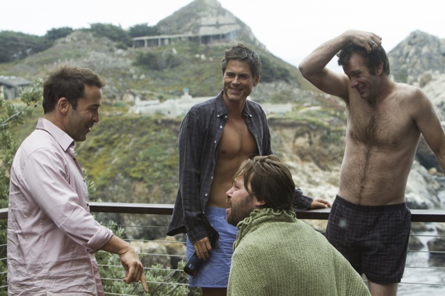 Jeremy Piven, Rob Lowe, Christian McKay and Thomas Jane in I MELT WITH YOU, a Magnolia Pictures release.
