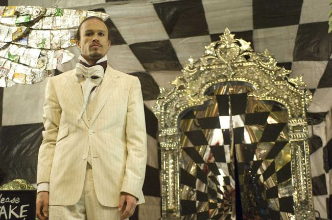 Through the Glass Lightly: Heath Ledger as Tony in 'The Imaginarium of Doctor Parnassus'