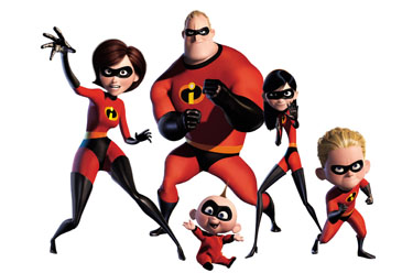 Family Affair: The Superhero Clan of 'The Incredibles'
