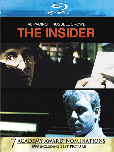 The Insider was released on Blu-ray on February 19, 2013